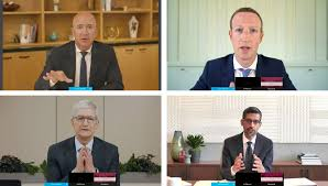 Mark zuckerberg, Sundar Pichai,Jeff Bezos, Tim Cook