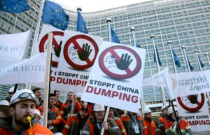 Stop China Dumping Protest