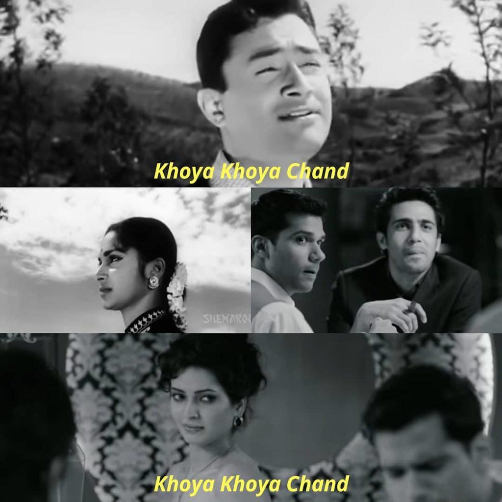 Khoya Khoya Chand in Kala Bazar and Shaitan