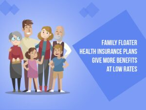 For a Family Floater health care package you will protect the whole family in a common program.