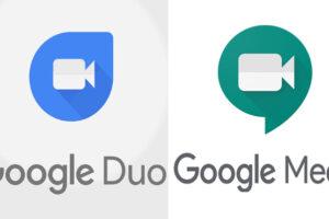 Google duo and meet