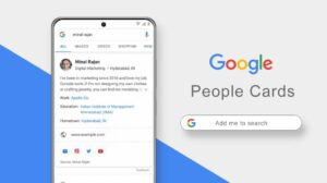 Google's people cards