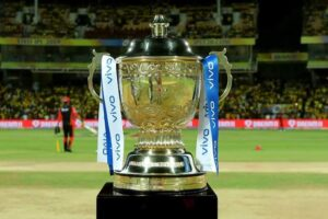 The IPL trophy