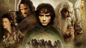 Lord Of the Rings cover with all characters