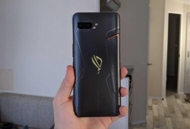 asus rog phone 3 back view