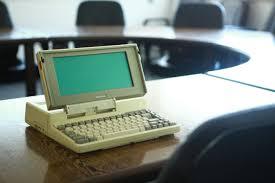 Toshiba T1100 laptop