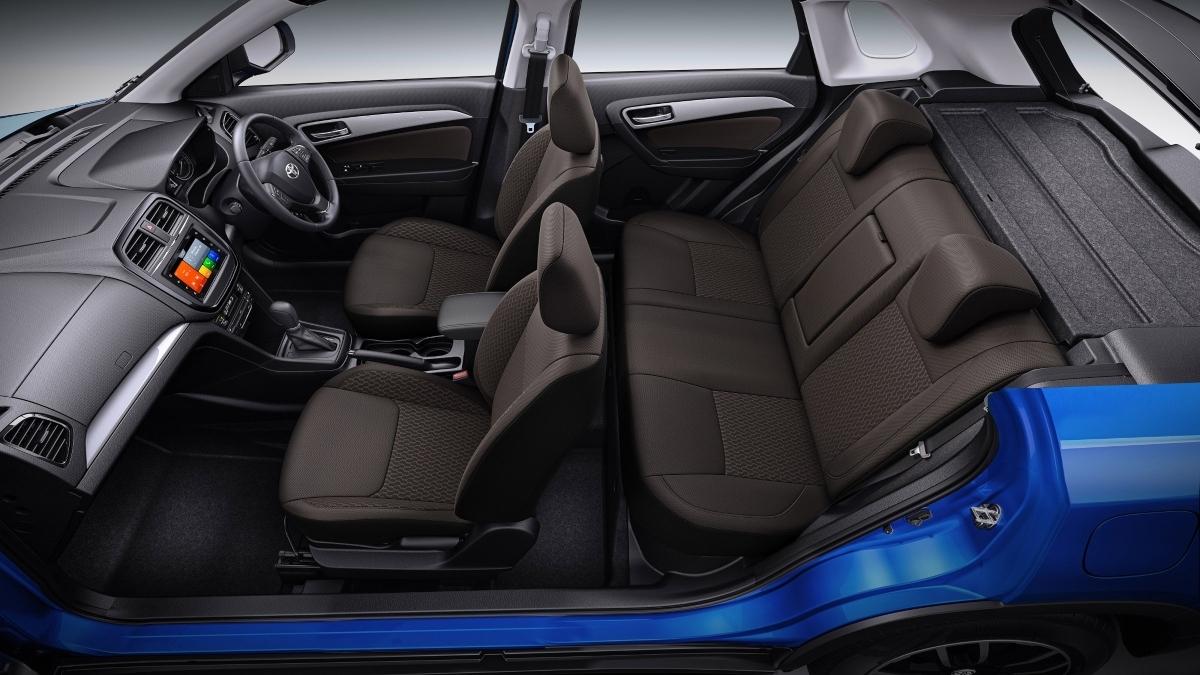 Toyota Urban Cruiser Interior revealed