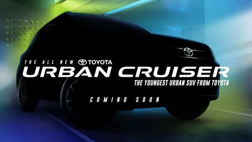 Toyota Urban Cruiser to start bookings