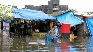 local shops shut during monsoon floods