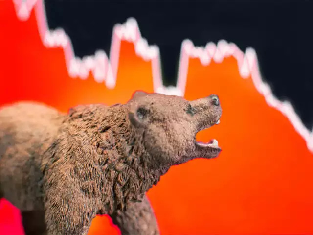 Bear market exists in an economy that is receding, where most stocks are declining in value.