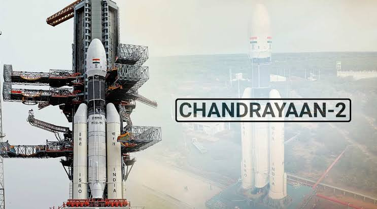 It's a photo of chandrayaan 2