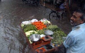 mumbai rains affect vegetable vendors