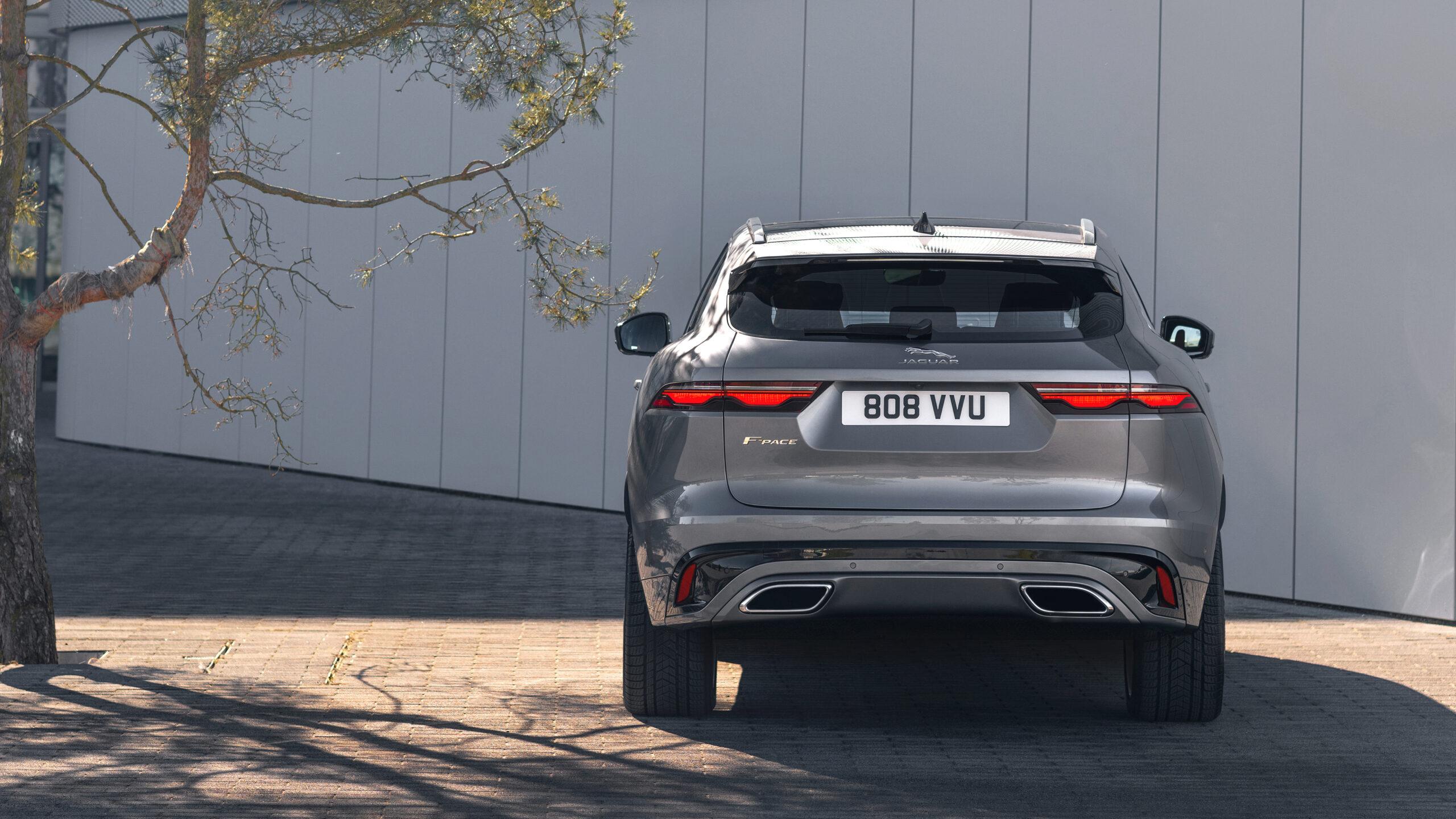 2021 Jaguar F-Pace rear