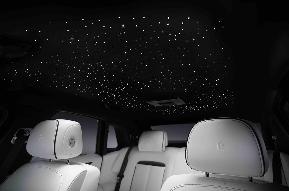 2021 Rolls Royce Ghost interior