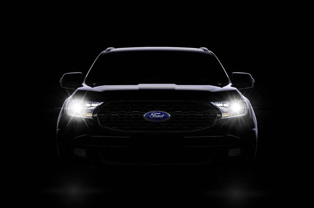 Ford Endeavour Sport teased