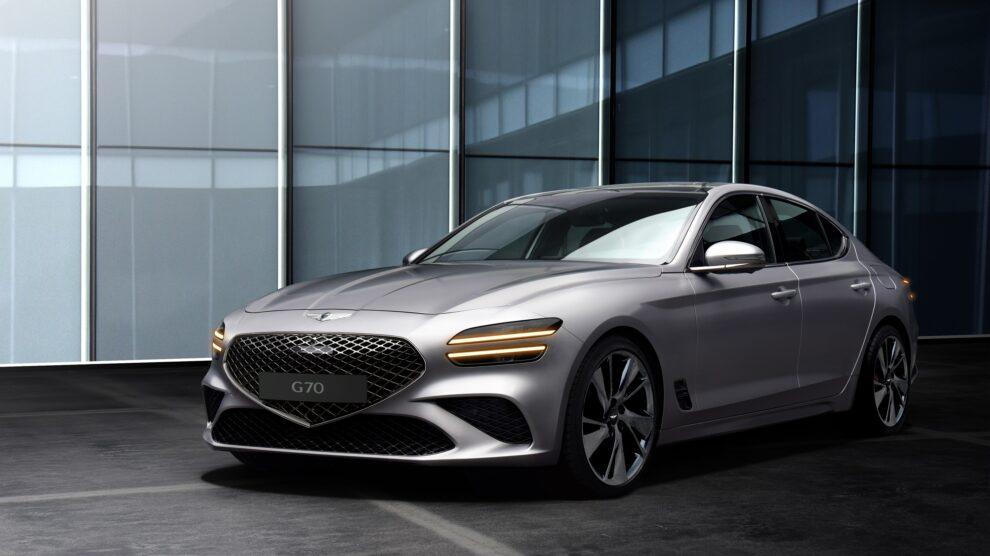 Genesis G70 unveiled