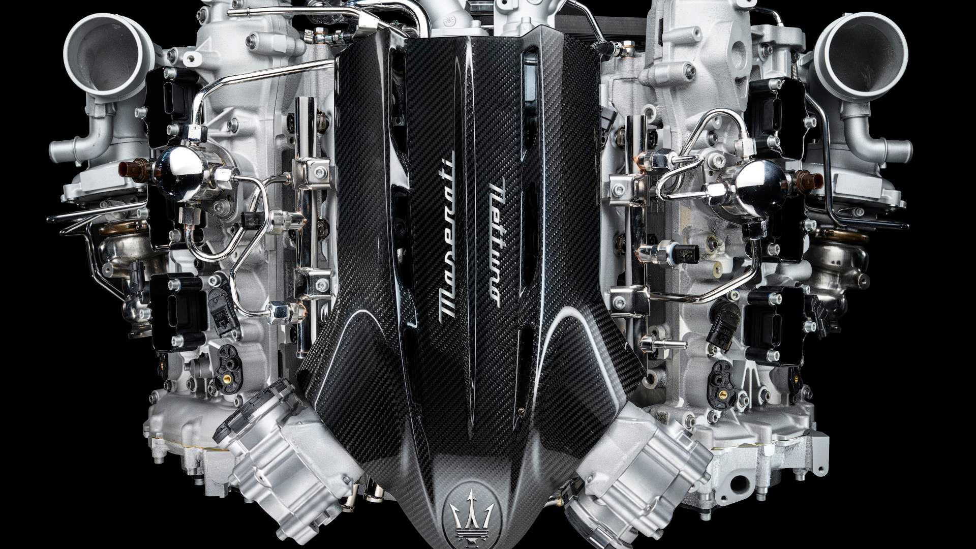 Maserati MC20 engine
