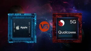 Apple and Snapdragon chips