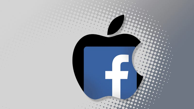 Apple and FB logo