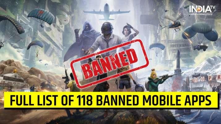 PUBG banned