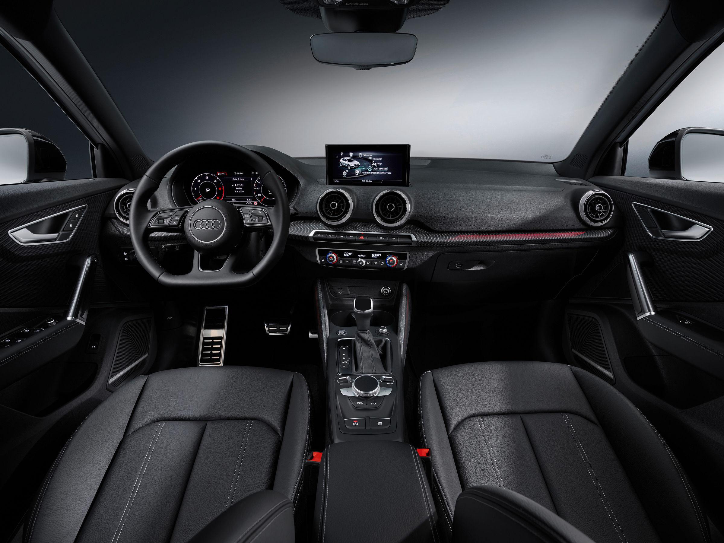 Audi Q2 bookings interior