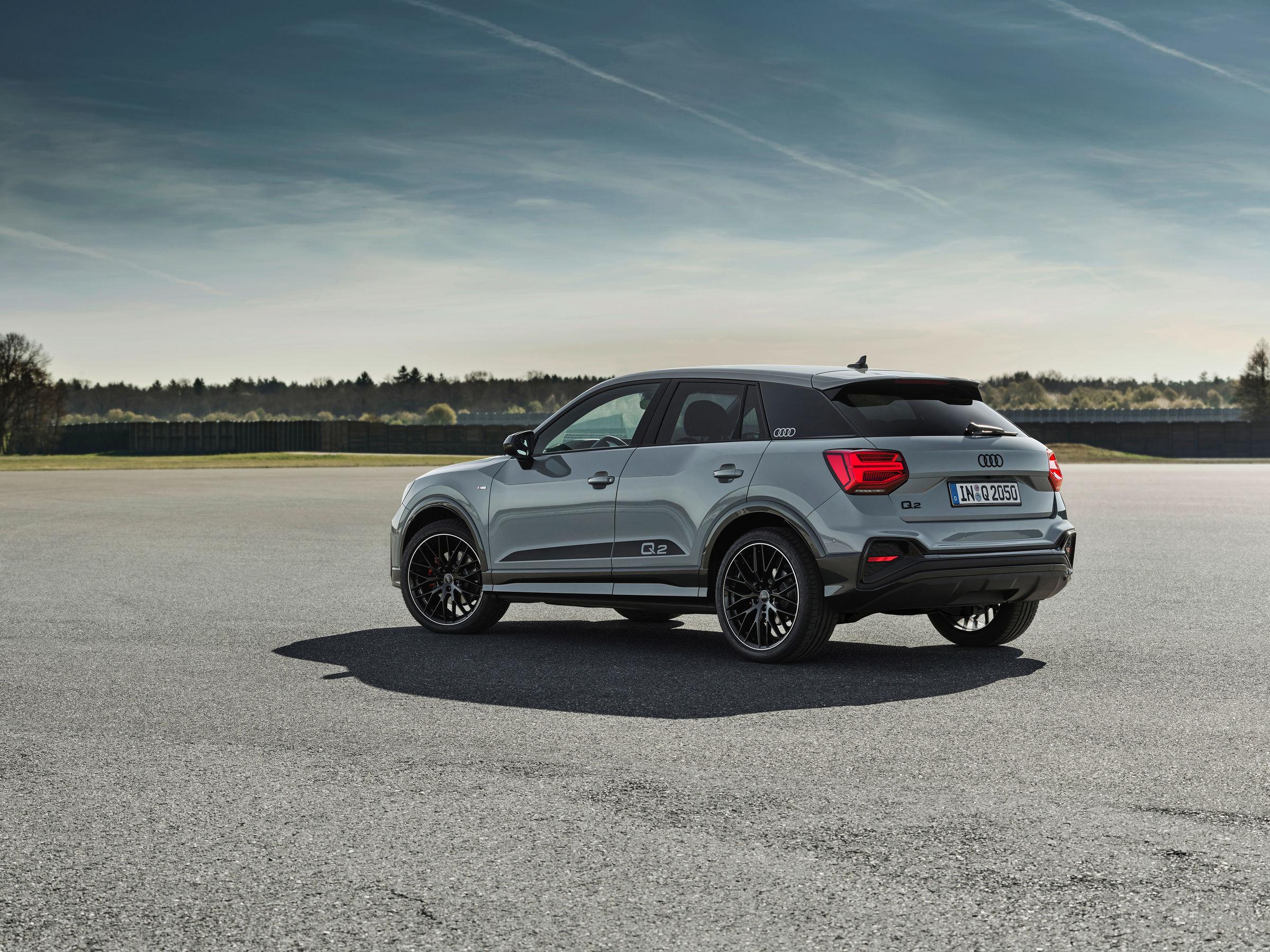 Audi Q2 bookings rear