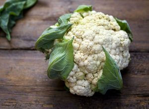 Cauliflower is a source of vitamin C that is very rich and a decent source of vitamin K
