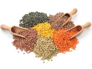 Lentils often contain decent levels of slowly digested carbohydrates