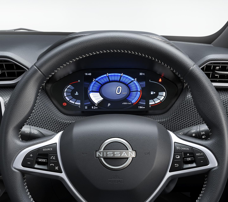 Nissan Magnite instrument cluster