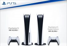 Sony PS5 Indian Price Digital Edition Standard Edition