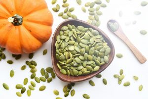 pumpkin seeds contain a large amount of nutrients.