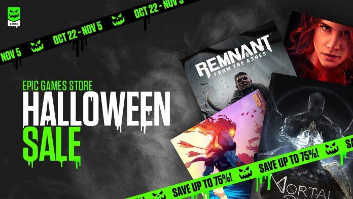Epic Games Store EGS Halloween Sale Vampyr RDR2 Control WWZ