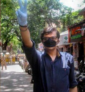 Journalist Arnab Goswami
