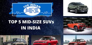 Top 5 Mid Size SUVs in India - December 2020