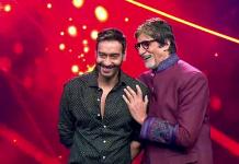 Ajay Devgn and Amitabh Bachchan