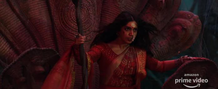 A still from Durgamati trailer