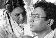 Mira Nair and Irrfan Khan