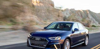 2021 Audi A4 Facelift Front