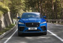2021 Jaguar F-Pace SVR Front