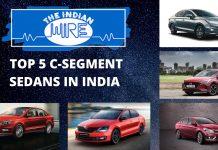 Top Five C-Segment Sedans In India