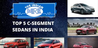 Top Five C-Segment Sedans In India
