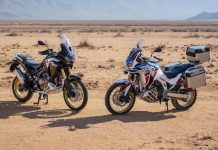 2021 Honda Africa Twin Adventure Sports Launched in India