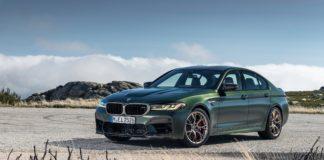 BMW M5 CS Side Profile