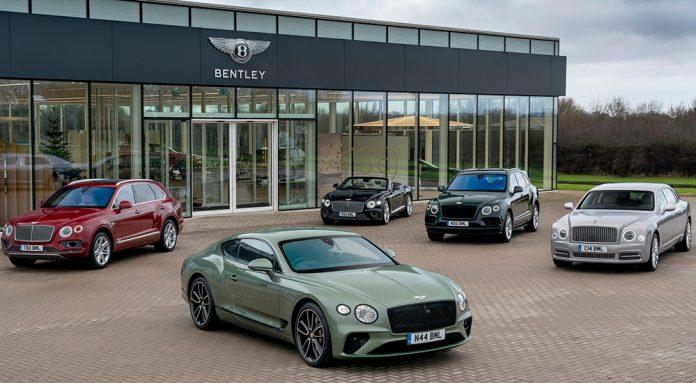 Bentley Delivers Best Ever Sales Figure in 2020