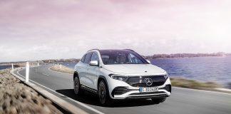 Mercedes Benz EQA Global Debut