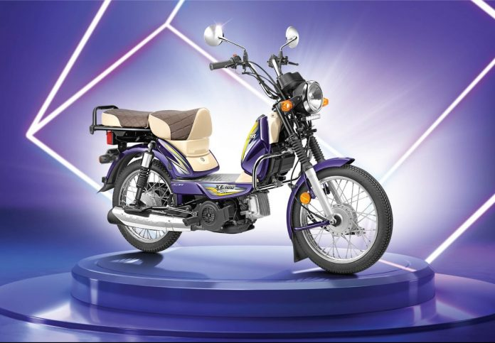 TVS XL 100 Winner Edition Launched