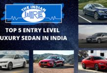 Top Five Entry Level Luxury Sedan In India