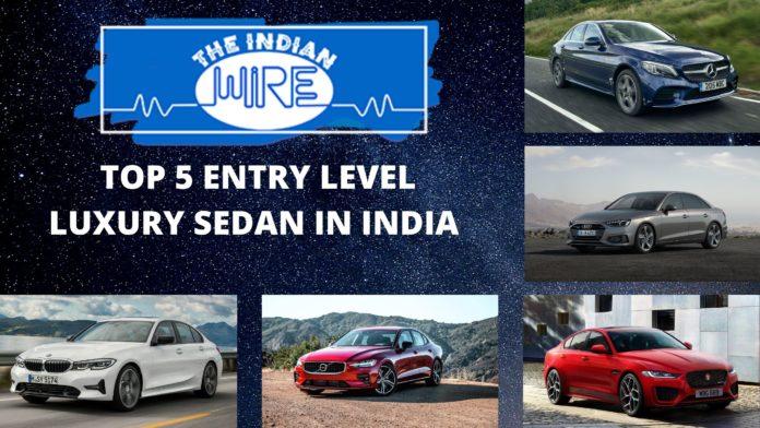 Top Five Entry Level Luxury Sedan In India