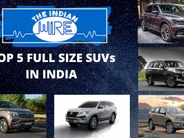 Top Five Full Size SUVs In India
