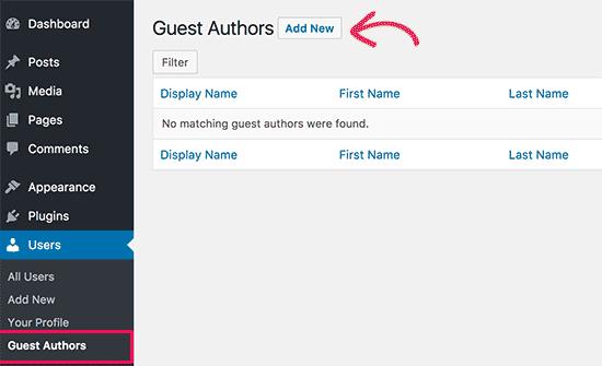 Guest authors detail